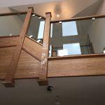 made to measure glass balustrade