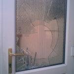 broken double glazing
