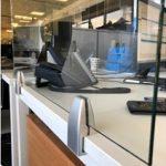 edge clamp desk screen