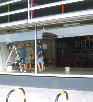 glass shopfront