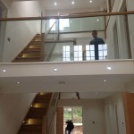 rebated balustrade