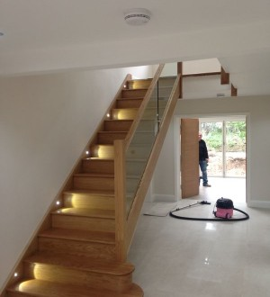 new glass balustrade